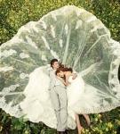 艾诺韩版蕾丝婚纱照