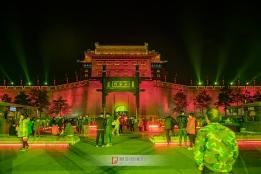 西安古城永宁门夜色
