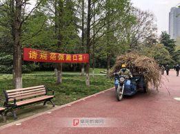 文峰公园防疫宣传横幅 3