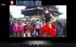 【原创】颍上县龙文教育滨河公园少儿舞蹈演练(视频)