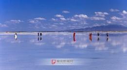 天空之镜  茶卡盐湖
