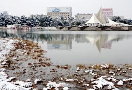 文峰公园雪景