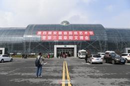第四届安徽省剪纸艺术节暨第三届阜阳文博会开幕