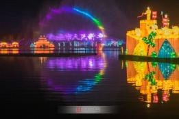 2018阜阳市生态乐园新春灯会