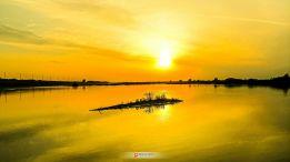 四里湖日落