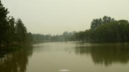 美丽淮河风景