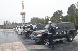 市城管执法局换装仪式在阜城举行