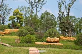 芦桥沟湿地公园开建