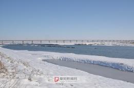 四里湖雪景