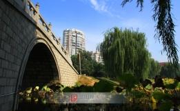 【奇兵看阜阳】(8)玉带桥(2012.10.11文峰公园)