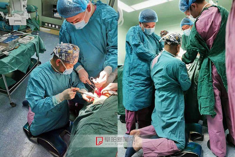 手術室內,阜陽一醫生果斷跪地30分鐘!