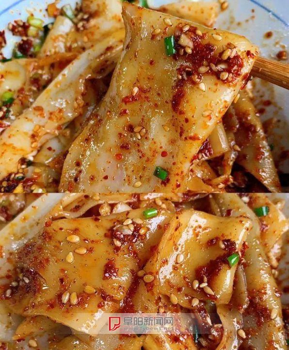 【五分钟料理】饺子皮油泼面
