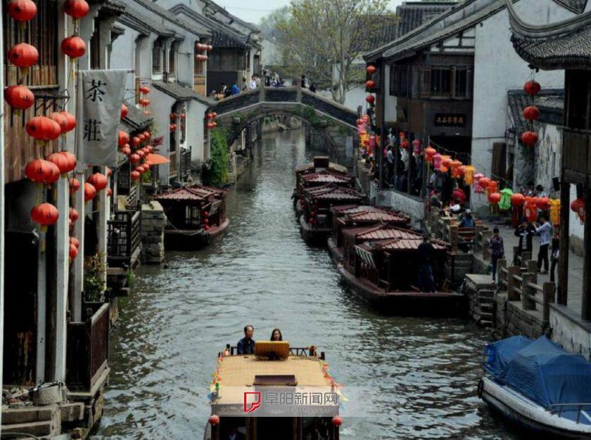 乾隆帝来到姑苏第一名街后,在颐和园仿照七里山塘模样修了苏州街 ...