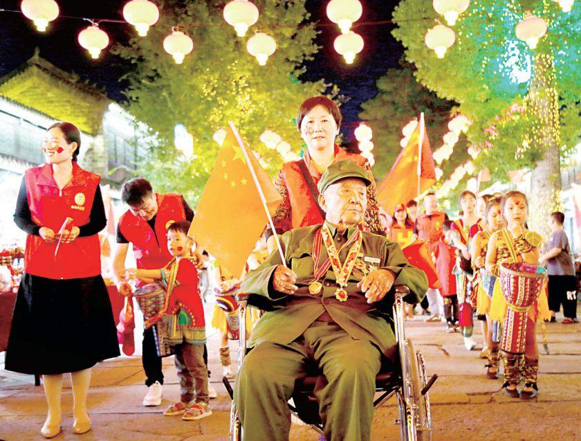 唱红歌 庆国庆